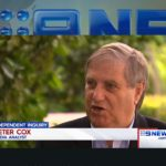 Peter Cox on Nine News
